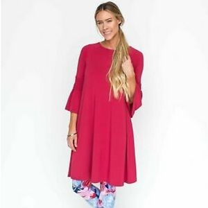 Agnes & Dora Cranberry Walker Dress 👗